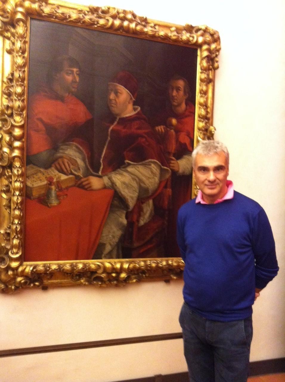 Marco con Ritratto di Leone X di Raffaello Sanzio